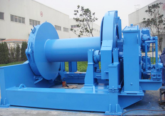 Ship Mooring Winch