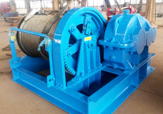 5t Winch Exported to Egypt
