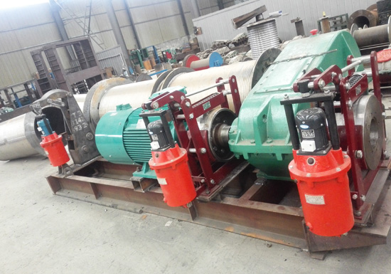 6 Ton Double Drum Winch for Sale