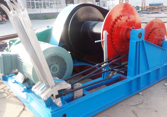 8t Double Drum Winch