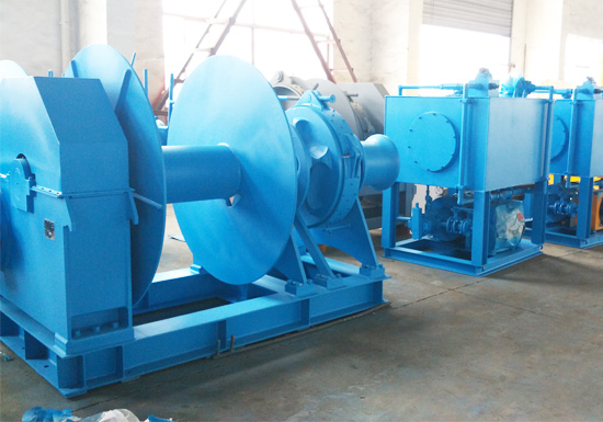 Anchor Winch With Hydraulic Pump Station