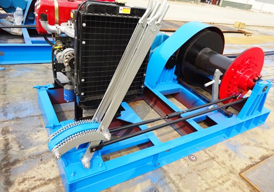 Diesel Winch for Piling