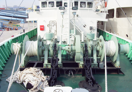 Double Gypsy Hydraulic Driven Anchor Winch