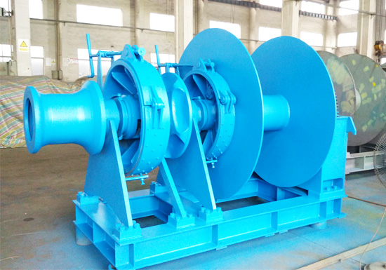 Hydraulic Anchor Winch With Warping Head