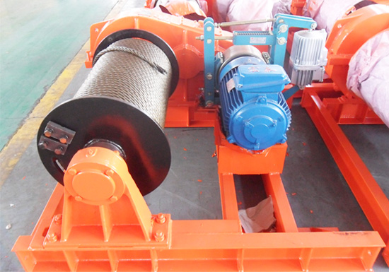 Electric Winch for Hoisting