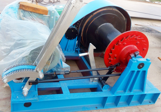 Single Drum Winch