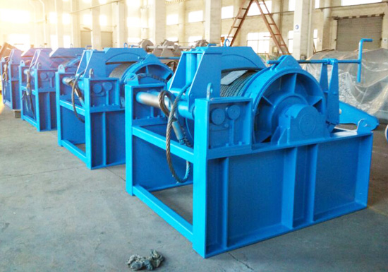 15 Ton Hydraulically Driven Winch for Marine