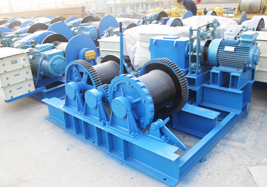 JMM Friction Type Electric Winch