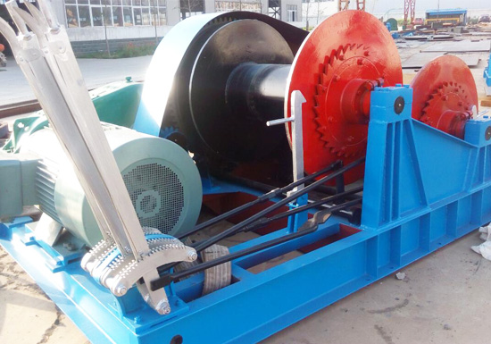 Double Drum Piling Winch