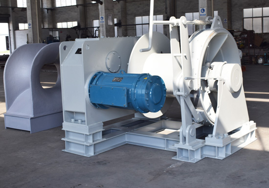 Offshore Winch - Tailor-made Winches for Anchoring, Mooring