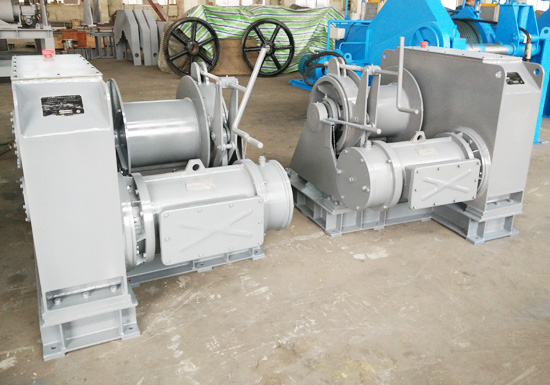 Electric Offshore Mooring Winch