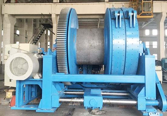 Electric Towing Winch for Marine Application