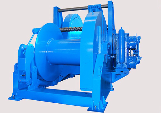 Hydraulic Winch for Marine