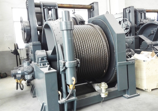 Hydraulic Rope Winch