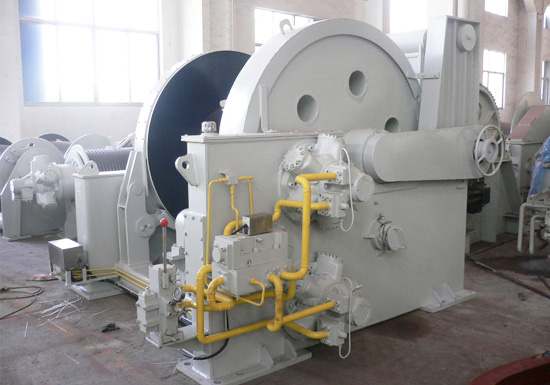Hydraulic Winch for Tugboats