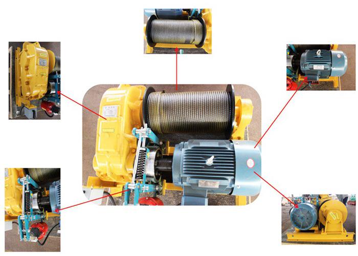 Rope Winch Components