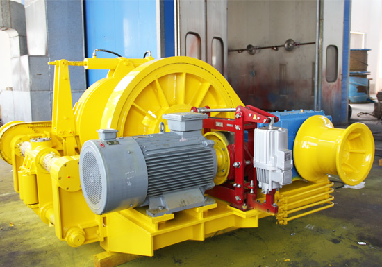 Offshore Vessel Winch