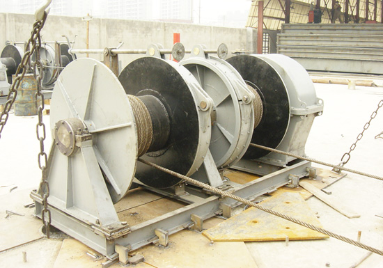Durable Winch Machine for Marine Application