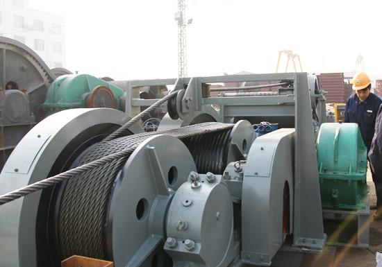 JMM Type 20 Ton Electric Winch