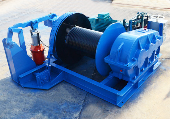 Single Drum Winch Supplier