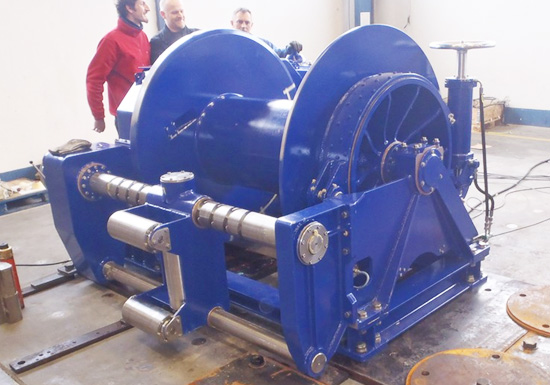 Hydraulic Positioning Winch for Sale