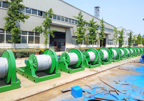 Slow Speed Electric Winches