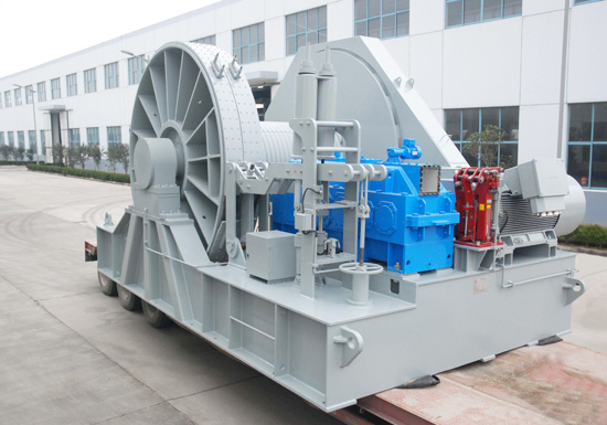 Electric Winch For Ship Breaking