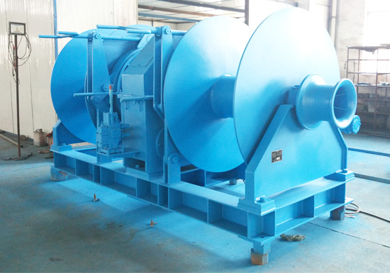 Double Drum Hydraulic Mooring Winch Sales