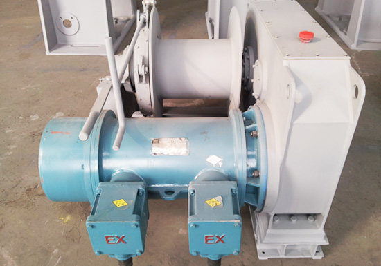 Explosion Proof Electric Mooring Winch For Ships