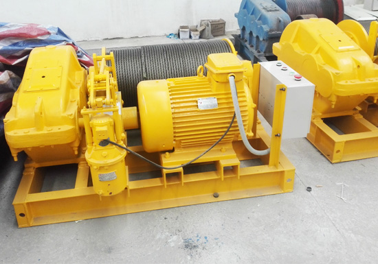 Fast Speed Electric Drum Winch For Sale