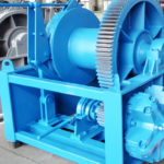 Mooring Winch For Ships