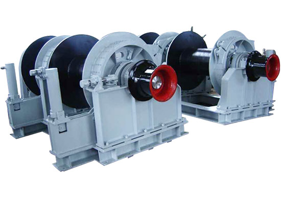 Electric Double Drum Mooring Winch For Sale