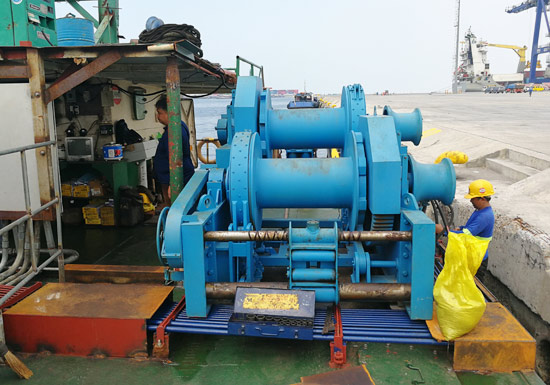 Hydraulic Mooring Winch For Sale