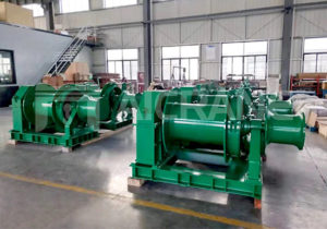 10 Ton Hydraulic Winch