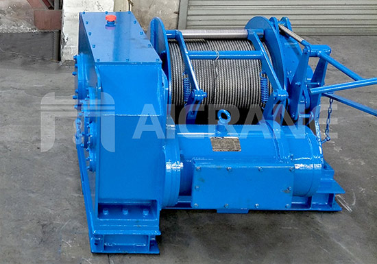 5 Ton Winch Shipped To UAE