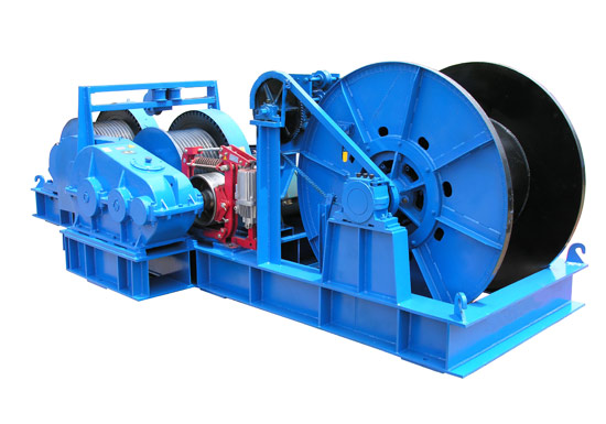 Electric Friction Winch Machine
