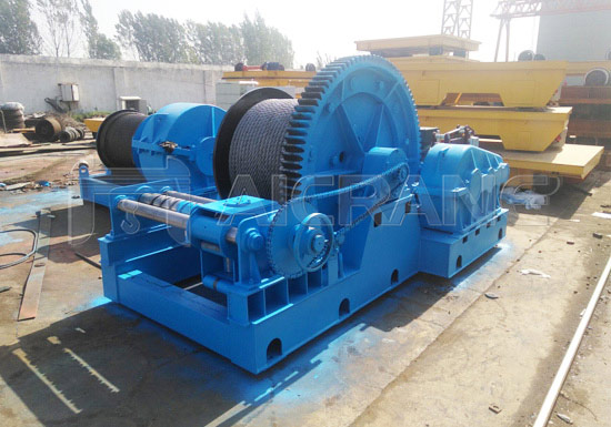 AQ-JM Slow Speed Electric Drum Winch