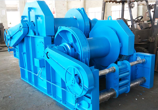 Double Drum Industrial Hydraulic Winch for Sale