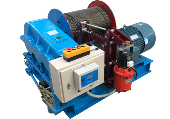 JM Slow Speed Electric Winch Manufacturer