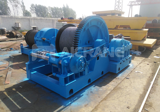 Electric Tugger Wire Rope Winch for Sale