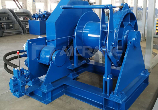Hydraulic Tugger Wire Rope Winch Manufacturer