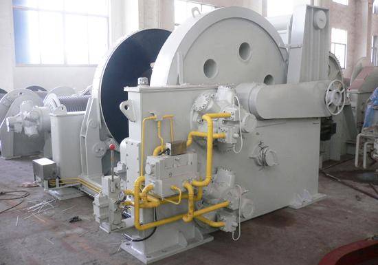 50 Ton Hydraulic Winch for Sale
