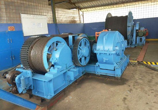 Friction Type Electric Winch 50T