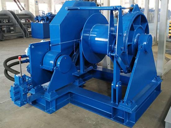 Marine Hydraulic Winch Manufacturer