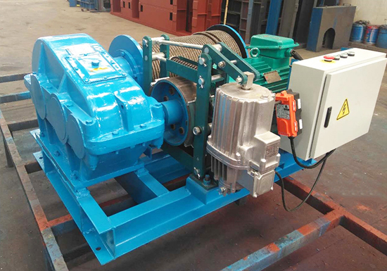 Rope Winch Electric
