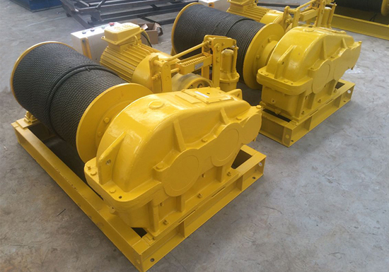 AQ-JK Electric Wire Rope Winch Manufacturer