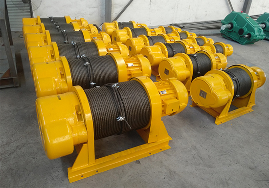 AQ-JKD Small Wire Rope Winch Supplier