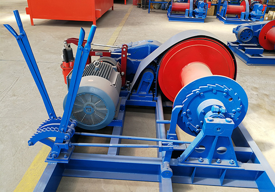 AQ-JKL Fast Speed Piling Winch Manufacturer