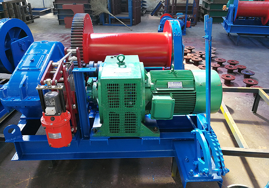 Electric Wire Rope Lifting Winches For Sale