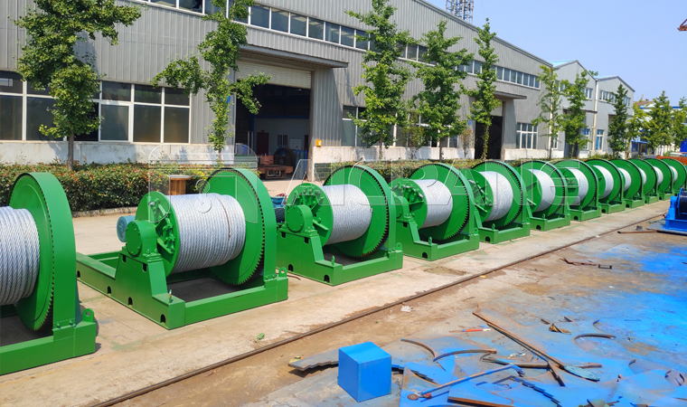 30 Ton Slow Speed Winches for Sale